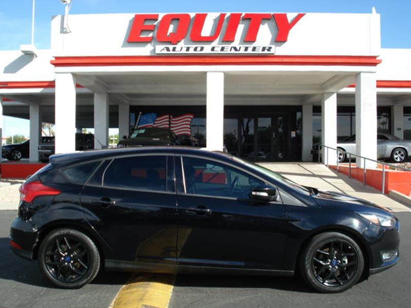2016 FORD FOCUS SE 4DR HATCHBACK black rear view camerarear view monitor in dashstability contr