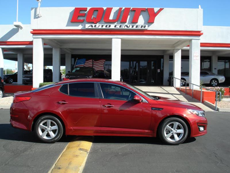 2015 KIA OPTIMA LX 4DR SEDAN dk red stability controldriver information systemsecurity remote