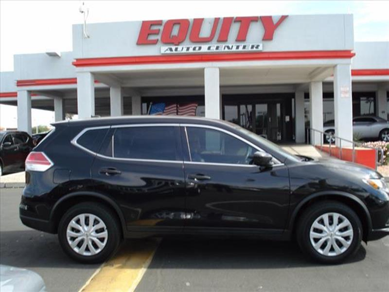 2016 NISSAN ROGUE SV 4DR CROSSOVER black grille color black with chrome accentsmirror color body