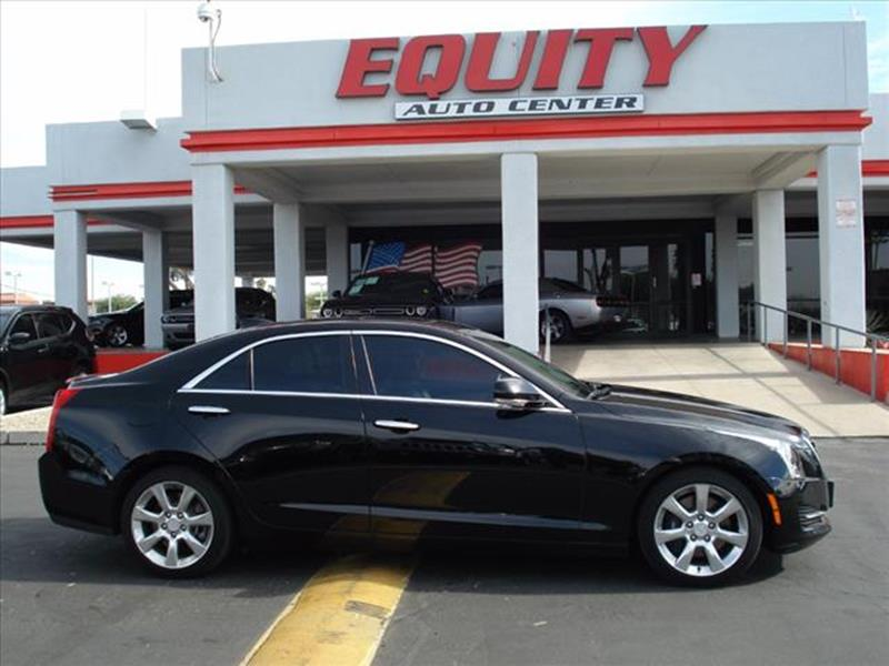 2016 CADILLAC ATS 20T LUXURY COLLECTION 4DR SEDAN black active grille shuttersexhaust tip color
