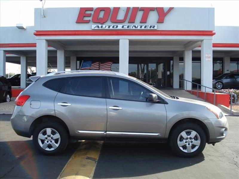 2014 NISSAN ROGUE SELECT S 4DR CROSSOVER gray body side moldings chromeexhaust tip color stainle
