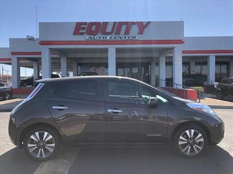2016 Nissan LEAF for sale in Phoenix, AZ