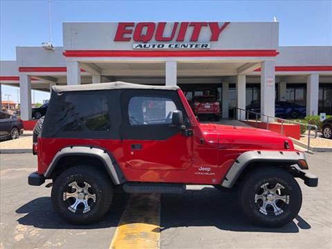 2004 Jeep Wrangler for sale in Phoenix, AZ