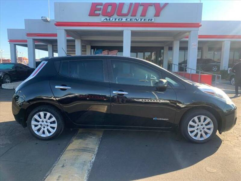 2016 Nissan LEAF for sale at EQUITY AUTO CENTER in Phoenix AZ