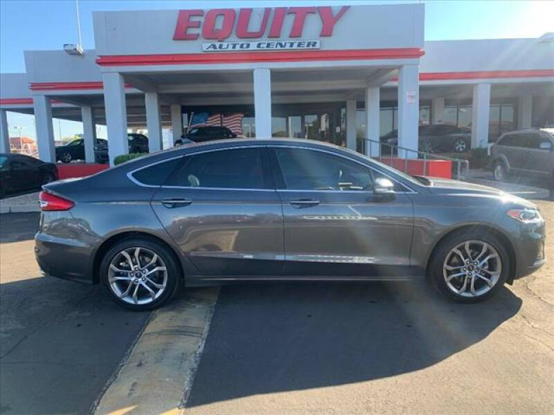 2019 Ford Fusion for sale at EQUITY AUTO CENTER in Phoenix AZ