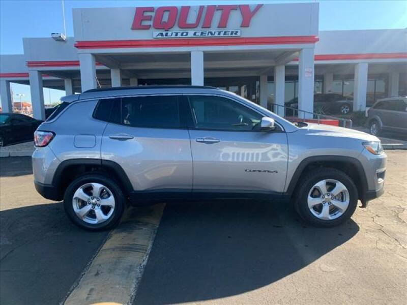 2018 Jeep Compass for sale at EQUITY AUTO CENTER in Phoenix AZ