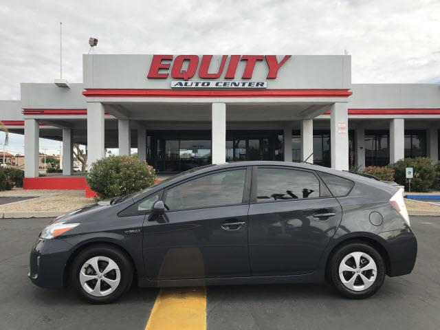 2015 TOYOTA PRIUS FIVE 4DR HATCHBACK gray audio - internet radio pandoranavigation system with