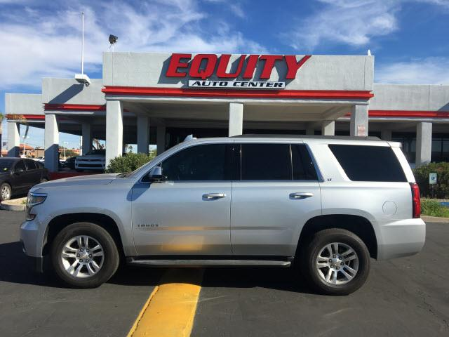 2015 CHEVROLET TAHOE LT 4X2 4DR SUV silver memorized settings includes adjustable pedalsroll sta