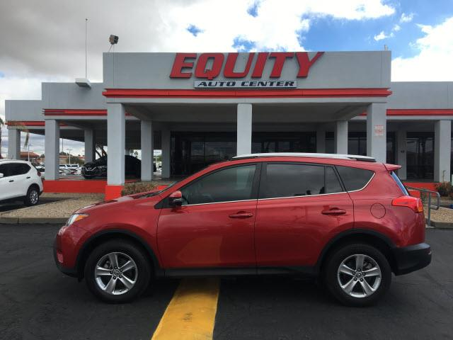 2015 TOYOTA RAV4 XLE 4DR SUV red real time trafficcrumple zones frontphone wireless data link b