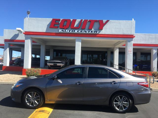 2017 TOYOTA CAMRY LE 4DR SEDAN dk gray crumple zones rearelectronic messaging assistance with v