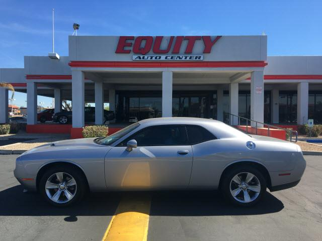 2016 DODGE CHALLENGER SXT 2DR COUPE silver impact sensor post-collision safety systemcrumple zon