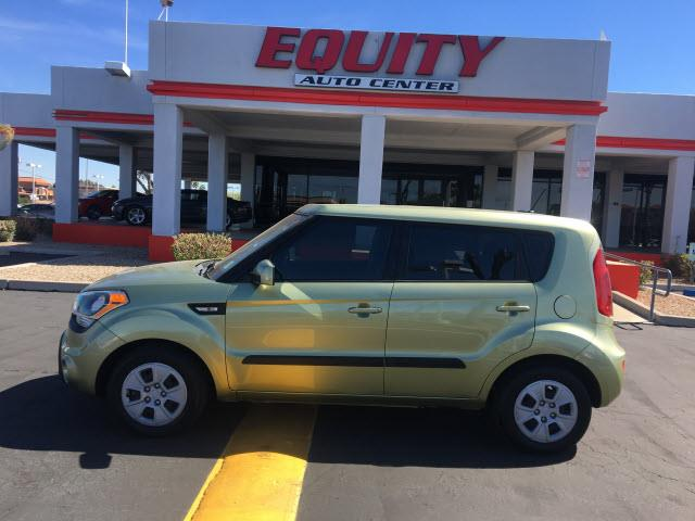 2013 KIA SOUL BASE 4DR WAGON 6A green crumple zones rearcrumple zones frontphone wireless data