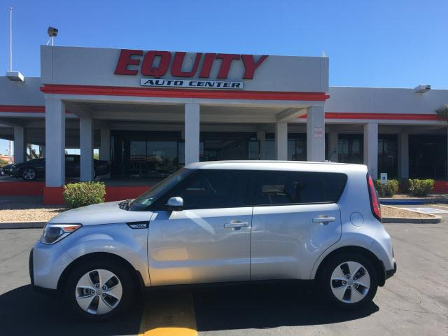 2015 KIA SOUL BASE 4DR WAGON 6A silver crumple zones rearcrumple zones frontphone wireless data