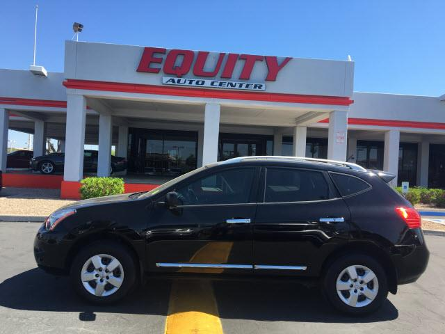 2014 NISSAN ROGUE SELECT S AWD 4DR CROSSOVER black crumple zones rearcrumple zones frontmulti-f
