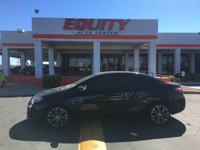 2014 TOYOTA COROLLA LE 4DR SEDAN black sand pearl crumple zones rearcrumple zones frontphone wir