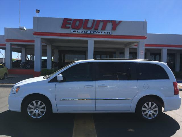 2014 CHRYSLER TOWN AND COUNTRY TOURING 4DR MINI VAN bright white clear c phone wireless data link