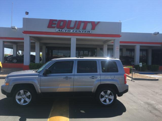 2016 JEEP PATRIOT LATITUDE 4DR SUV silver impact sensor post-collision safety systemroll stabili