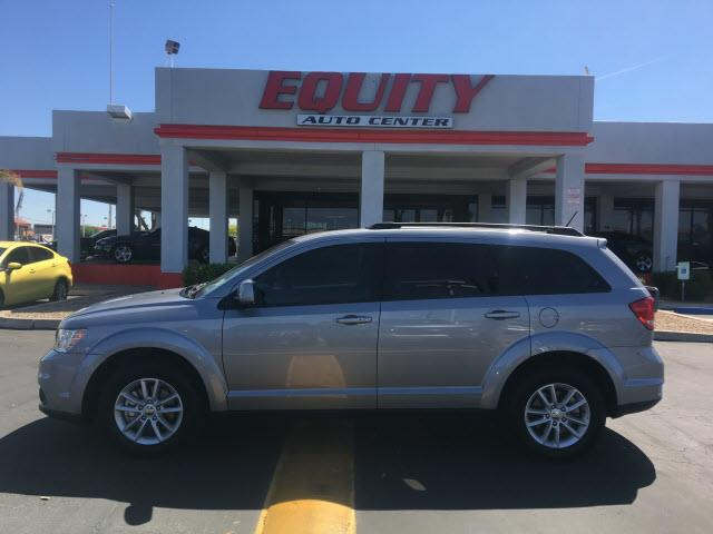 2016 DODGE JOURNEY SXT 4DR SUV silver roll stability controlcrumple zones rearcrumple zones fro