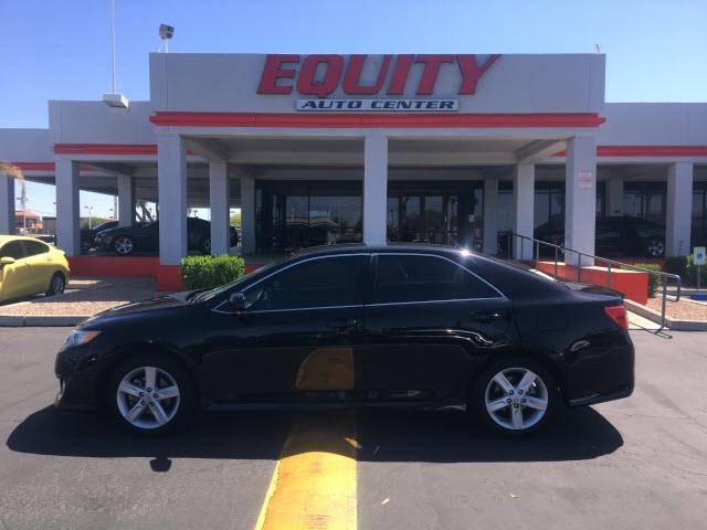 2014 TOYOTA CAMRY LE 4DR SEDAN black crumple zones rearcrumple zones frontphone wireless data l