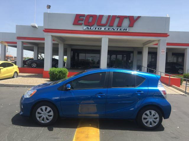 2014 TOYOTA PRIUS C TWO 4DR HATCHBACK blue multi-functional information centercrumple zones rear