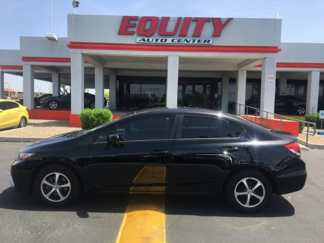 2015 HONDA CIVIC SE 4DR SEDAN black audio - internet radio pandoracrumple zones frontphone wir