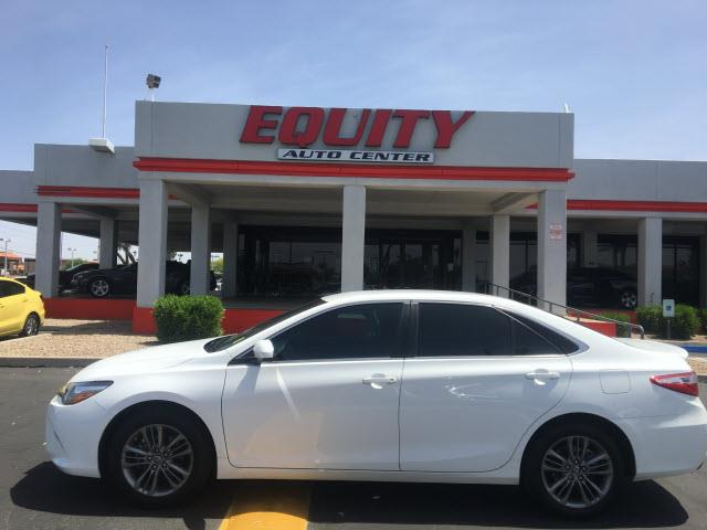 2016 TOYOTA CAMRY LE 4DR SEDAN white crumple zones rearelectronic messaging assistance with voic