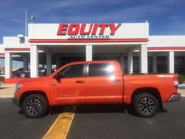 2016 TOYOTA TUNDRA SR5 4X4 4DR CREWMAX CAB PICKUP S orange trd pro front skid plate18 in 5-spoke