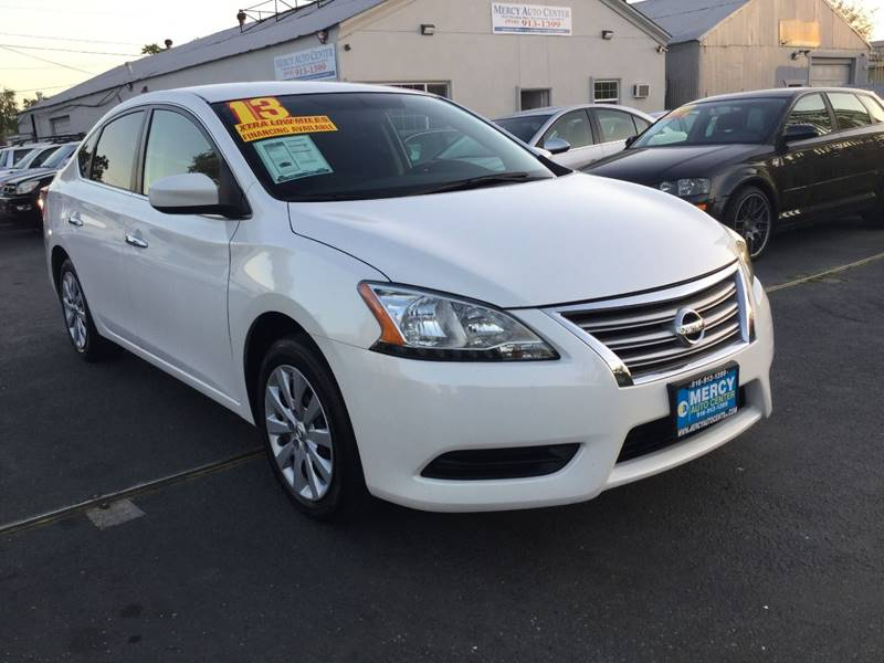 2013 Nissan Sentra For Sale At Mercy Auto Center In Sacramento CA