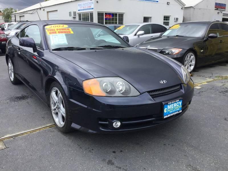 2004 Hyundai Tiburon For Sale At Mercy Auto Center In Sacramento CA