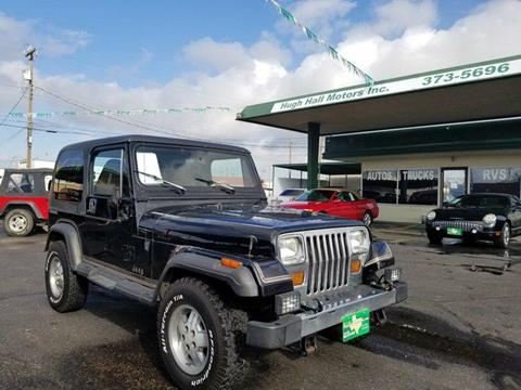 1990 Jeep Wrangler for sale in Amarillo, TX