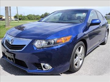 2012 Acura TSX for sale in West Palm Beach, FL