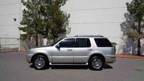 2008 Mercury Mountaineer for sale at LUXE Autos in Las Vegas NV