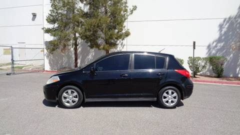 2007 Nissan Versa for sale at LUXE Autos in Las Vegas NV