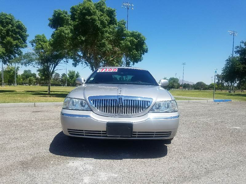 2010 Lincoln Town Car Signature Limited 4dr Sedan In Las Vegas Nv
