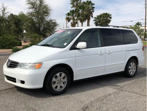 2004 Honda Odyssey for sale at LUXE Autos in Las Vegas NV