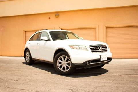 2006 Infiniti FX35 for sale at LUXE Autos in Las Vegas NV