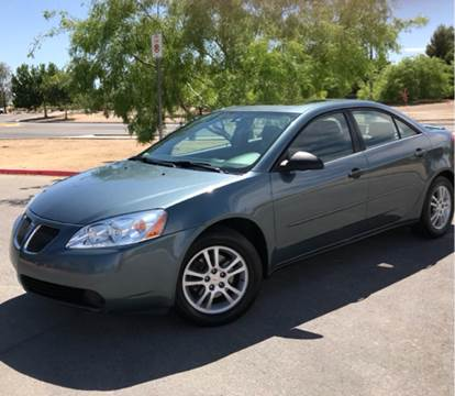 2006 Pontiac G6 for sale at LUXE Autos in Las Vegas NV