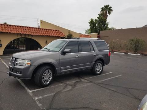 2010 Lincoln Navigator for sale at LUXE Autos in Las Vegas NV