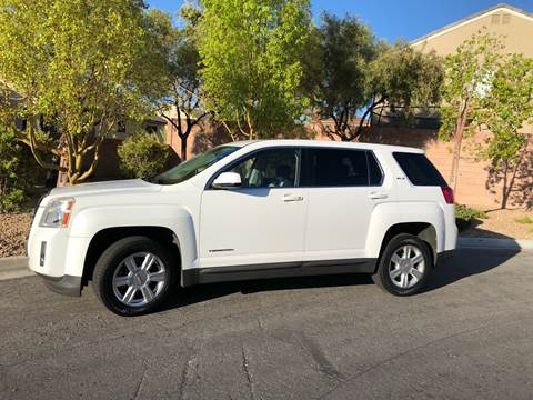 2010 GMC Terrain for sale at LUXE Autos in Las Vegas NV