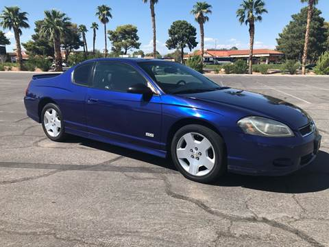 2006 Chevrolet Monte Carlo for sale at LUXE Autos in Las Vegas NV