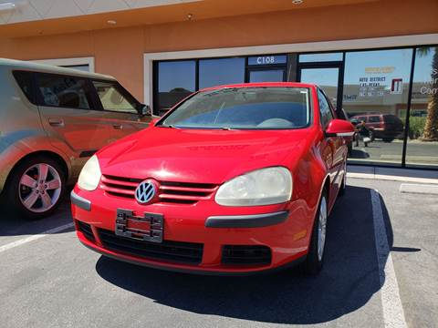 2007 Volkswagen Rabbit for sale at LUXE Autos in Las Vegas NV
