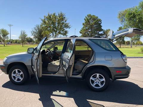 2001 Lexus RX 300 for sale at LUXE Autos in Las Vegas NV