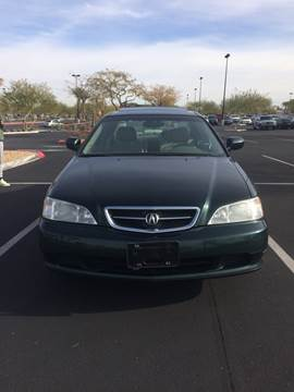 2001 Acura TL for sale at LUXE Autos in Las Vegas NV