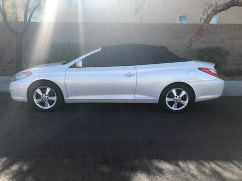 2006 Toyota Camry Solara for sale at LUXE Autos in Las Vegas NV