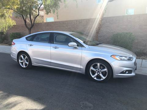 2016 Ford Fusion for sale at LUXE Autos in Las Vegas NV