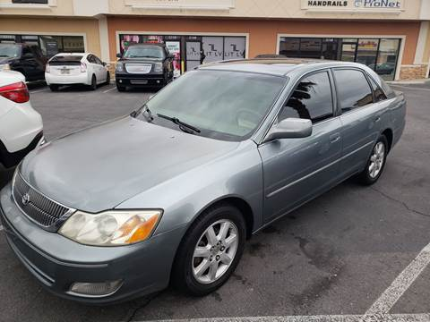 2000 Toyota Avalon for sale at LUXE Autos in Las Vegas NV