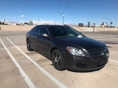 2010 Chevrolet Malibu for sale at LUXE Autos in Las Vegas NV
