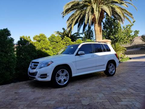 2013 Mercedes-Benz GLK for sale at LUXE Autos in Las Vegas NV