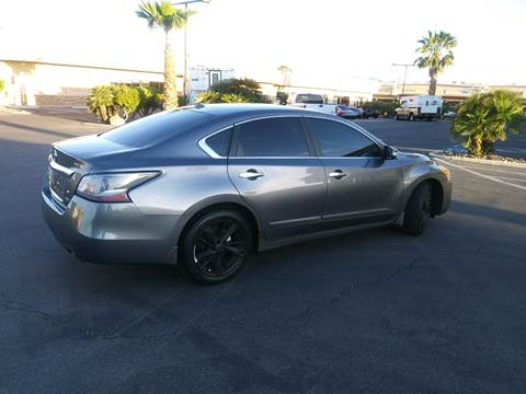 2014 Nissan Altima for sale at LUXE Autos in Las Vegas NV