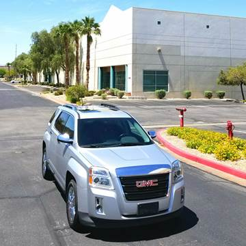 2014 GMC Terrain for sale at LUXE Autos in Las Vegas NV